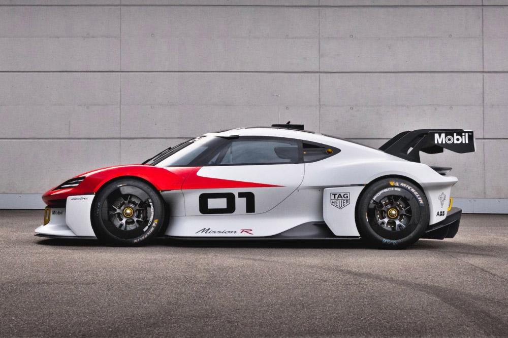Porsche Mission R Electric Race Car