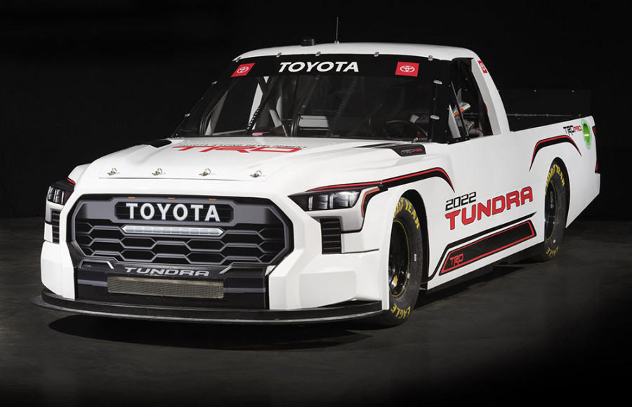 Toyota Tundra TRD Pro for 2022 NASCAR Camping World Truck Series