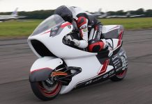 White Motorcycle Concepts on track for world land speed record attempt in 2022