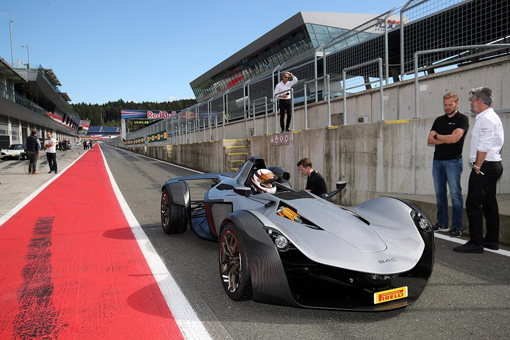 Bac Mono R Sets Red Bull Ring Production Car Lap Record