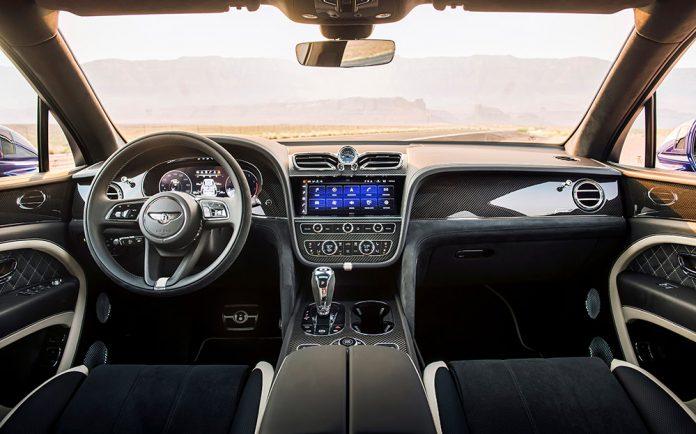 Bentley Bentayga Speed Best Interior Award