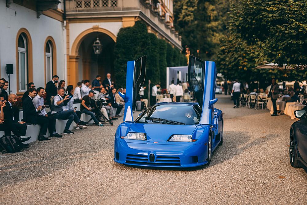 Bugatti Presents the Centodieci at Concorso d'Eleganza Villa d'Este 2021