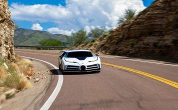 Bugatti Centodieci Passes Hot Weather Testing in Arizona