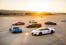 Bugatti Chiron Super Sport Customer Test at Paul Ricard Circuit