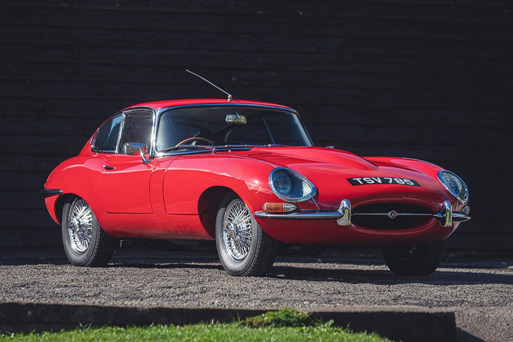 Devon Collection Jaguar E-Type at Silverstone Auctions