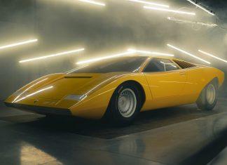 First 1971 Lamborghini Countach LP 500 Restored
