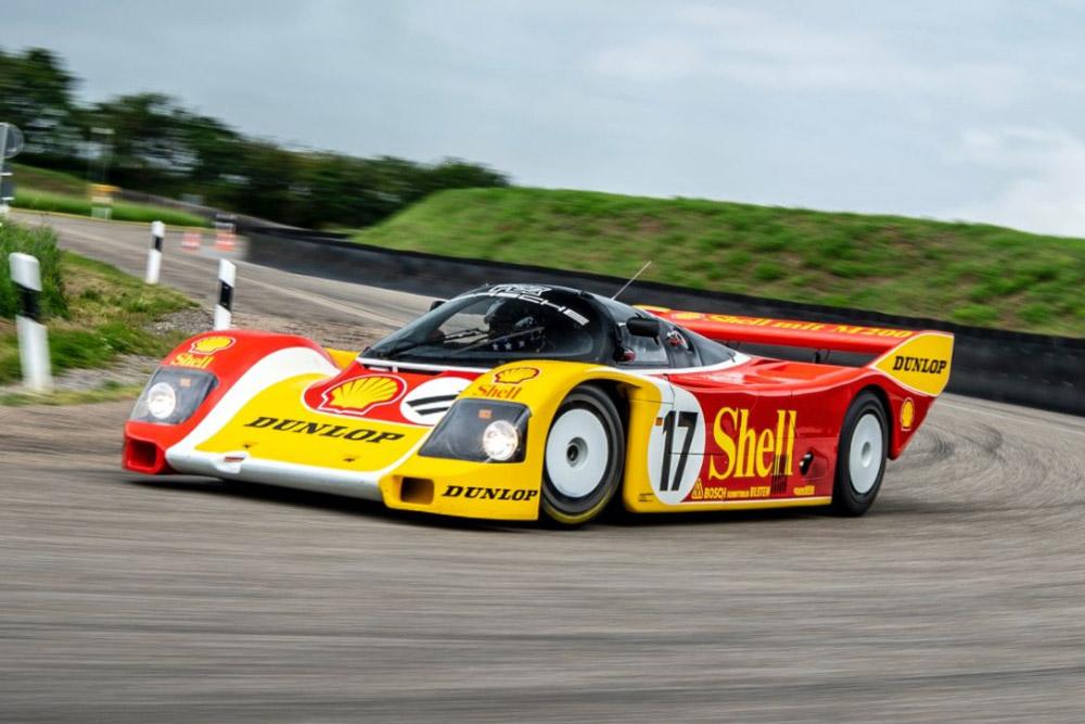 Hans Stuck Porsche 962 C Restored