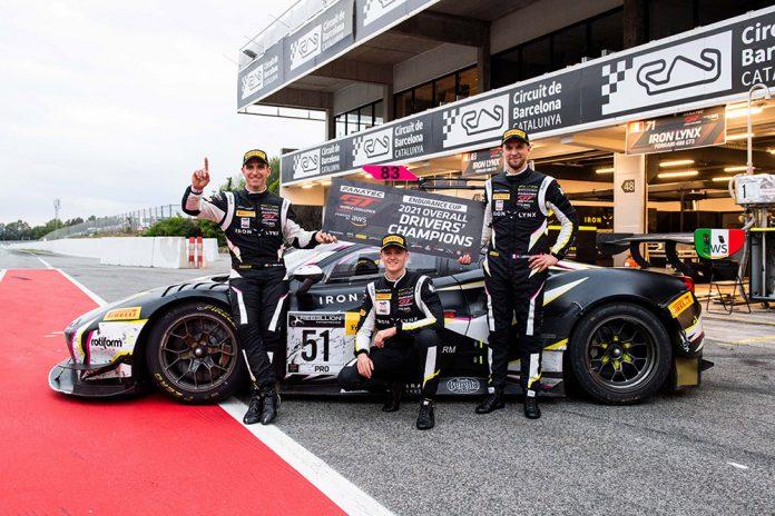 Iron Lynx wins GT World Challenge Endurance Cup drivers' championship