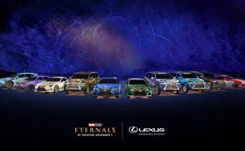Lexus reveals Marvel Studios' Eternals vehicles