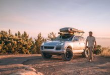 Living full-time in a Porsche Cayenne