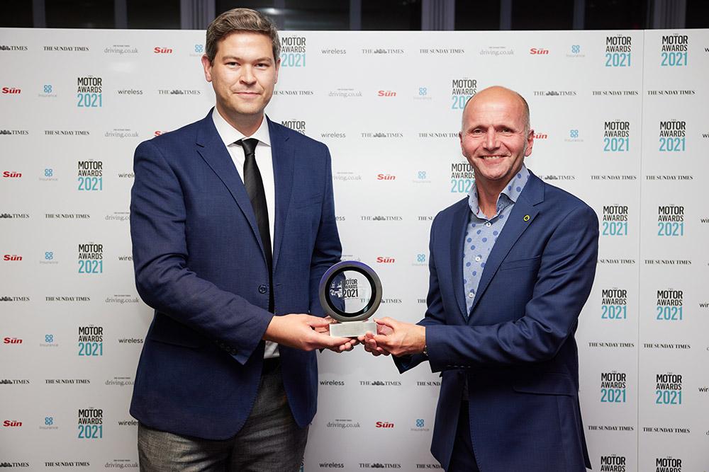 Lotus Wins Manufacturer of the Year News UK motor Award