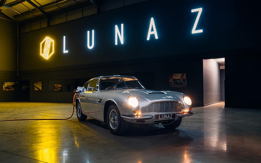 Lunaz Electric Aston Martin DB6