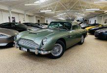 McGurk Performance Cars restored a 1964 Aston Martin DB5 during 2020 lockdown