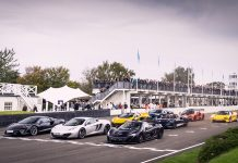 McLaren Automotive mark 10 years of innovation at Goodwood Members' Meeting
