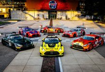 Mercedes-AMG GT3 Entries Compete in Season-Ending Indianapolis 8 Hour