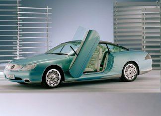 1996 Mercedes-Benz F 200 Imagination Futuristic Concept Car