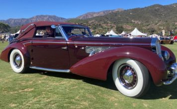 Mullin Automotive Museum's 1937 Delage D8-120 wins People's Choice Award at Montecito Motor Classic