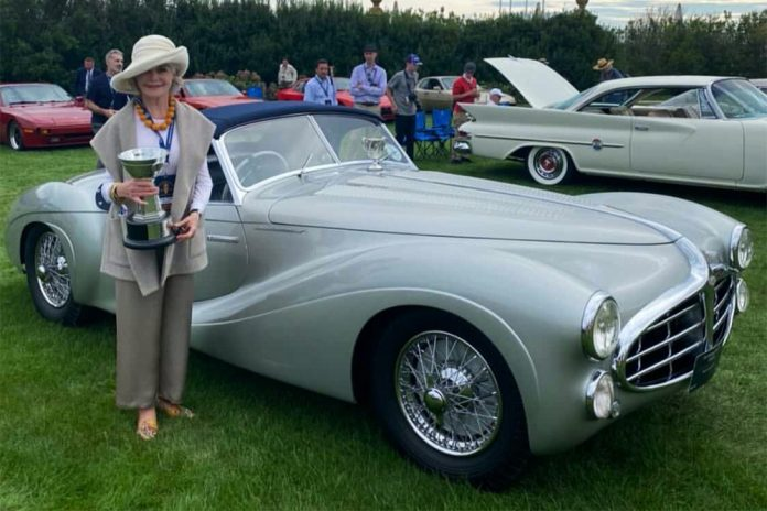 Mullin Automotive Museum's 1951 Delahaye Model 235 Cabriolet Wins the Chairman's Award at Audrain Newport Concours & Motor Week