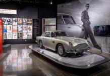 Petersen Automotive Museum James Bond prop and vehicle exhibit