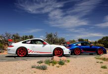 997 GT3 RR Porsches Complete 15k-Mile Road Trip at 2021 California Festival of Speed