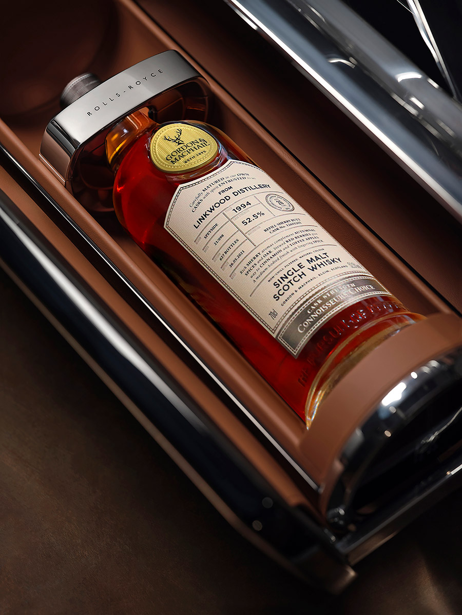 Rolls-Royce Bespoke Whisky and Cigar Chest