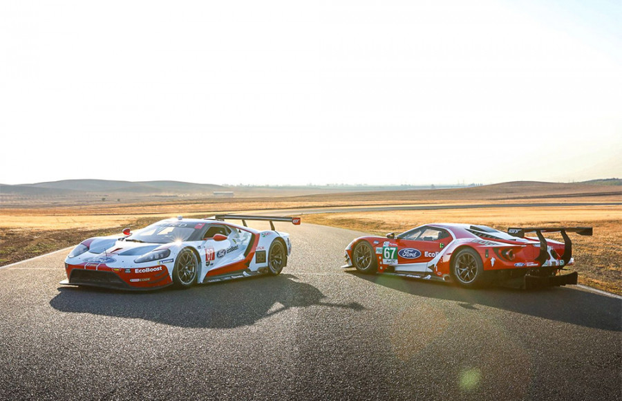 Velocity Invitational to Host Seven Ford GT LM GTE Race Cars at Laguna Seca