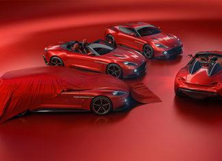 Aston Martin vanquish Zagatos