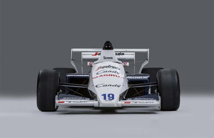 Ayrton Senna 1984 Toleman Hart Bonhams Auction Monaco