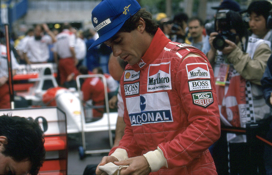 Bonhams Ayrton Senna Monaco McLaren