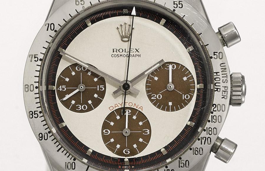 Rare Rolex Daytona Paul Newman Wristwatch Headlines Upcoming