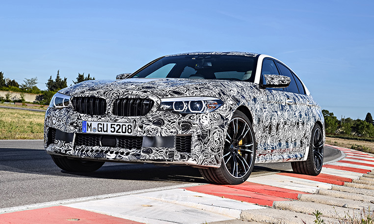 The New BMW M5 Is The Most Exciting And Emotionally Enthralling  High Performance Sedan From This Model Range Ever Released By BMW M. The  Sixth Generation Of ...