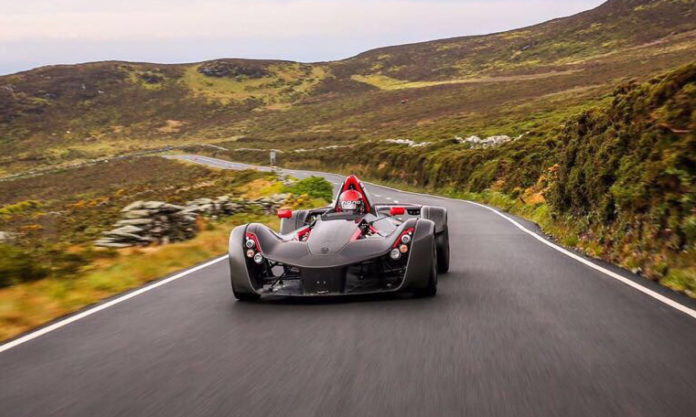 Back Mono Supercars on the Isle of Mann