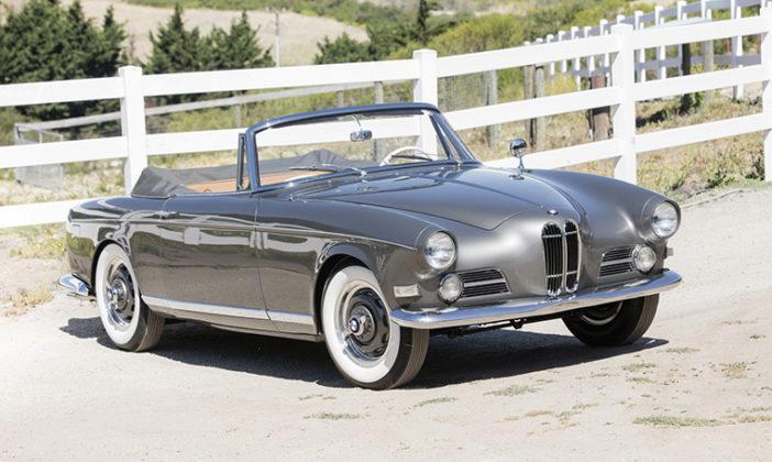 Bonhams 1957 BMW 503 Cabriolet by Bertone