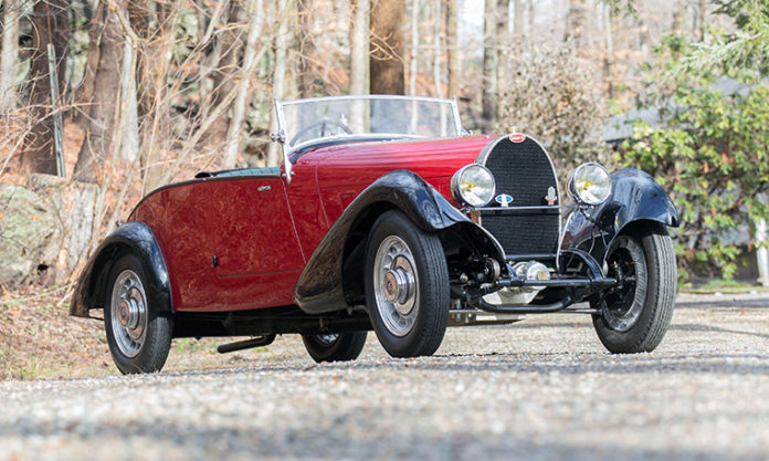 Bugatti Type 49 Roadster Headed To Bonhams Greenwich Auction