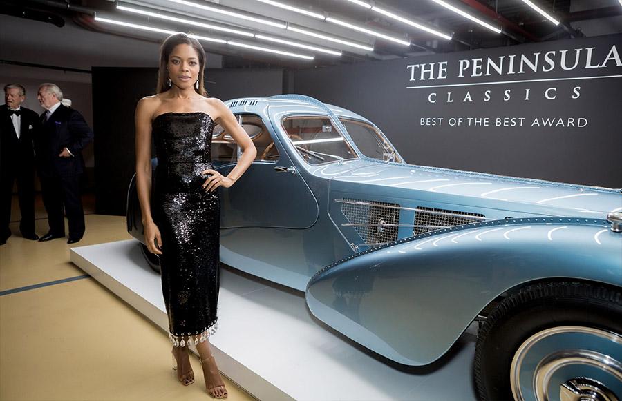 Bugatti Type 57SC Atlantic The Peninsula Classics Best of the Best Award