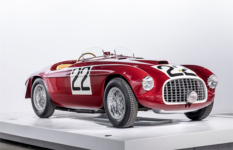 Bac Mono For Sale >> Petersen Museum Ferrari Exhibit Part 3: 1949 Ferrari 166 ...