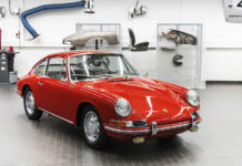 Porsche Museum Displays Oldest Porsche 911