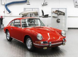 Porsche Museum Displays Oldest Porsche 911