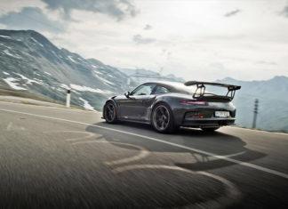 Porsche on the Stelvio Pass