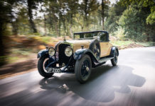 William Medcalf vintage bentley restoration