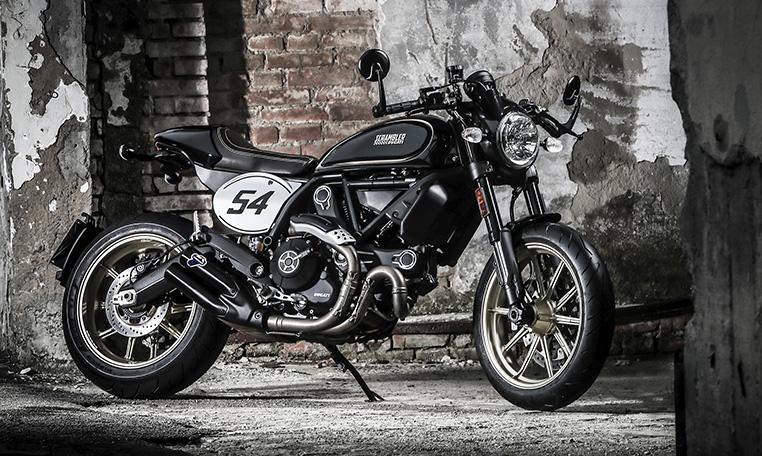 The Ducati Scrambler Café Racer