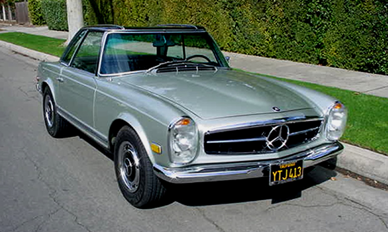 1969 mercedes benz 280sl comes full circle for Mercedes benz 280sl parts