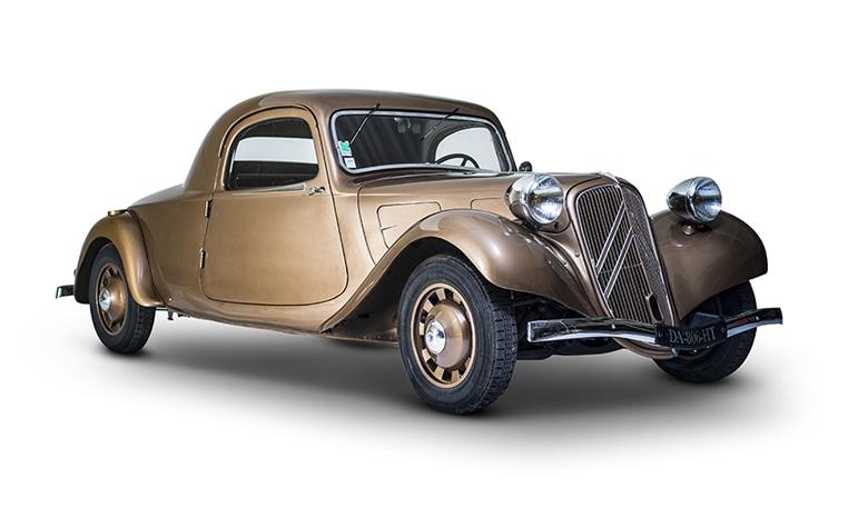 mullin automotive museum citroen exhibit