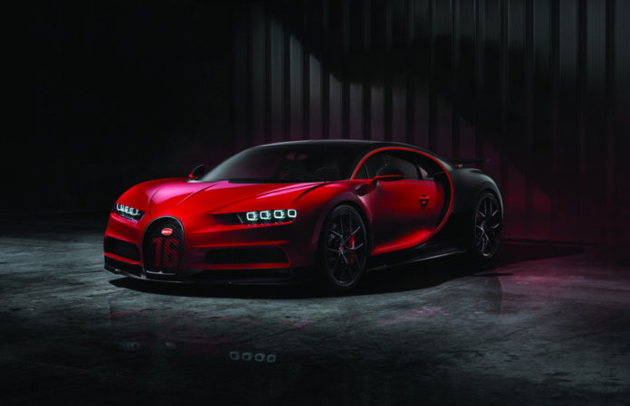 The New Bugatti Chiron Sport to Debut at the 2018 New York ...