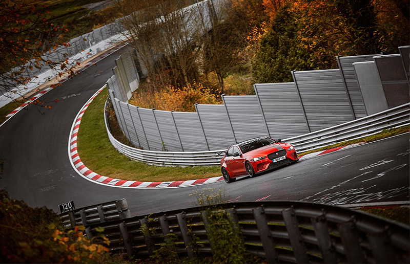 Jaguar Project 8 Nurburgring Record
