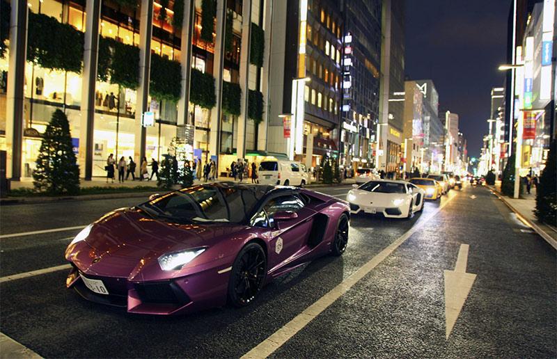 Lamborghini Day in Tokyo