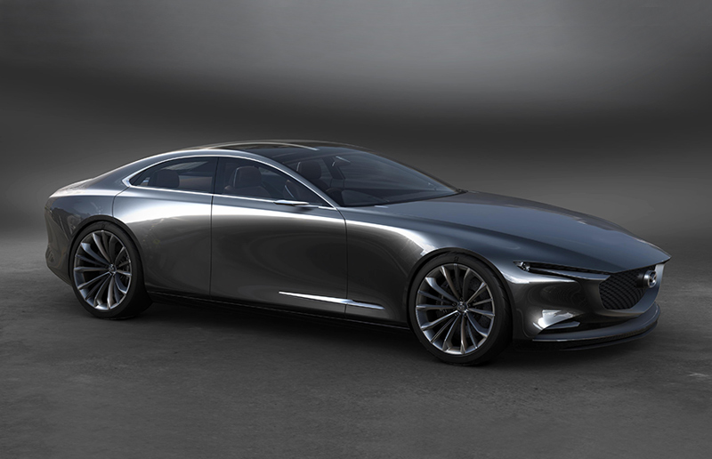 Mazda KAI Concept And Vision Coupe: A New Generation Of Inspired ...