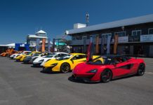 McLaren Automotive Australian Track Day