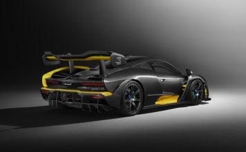 McLaren Senna Carbon Theme Geneva Motor Show