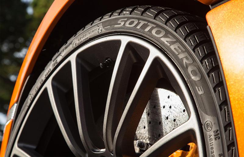 mclaren winter wheels